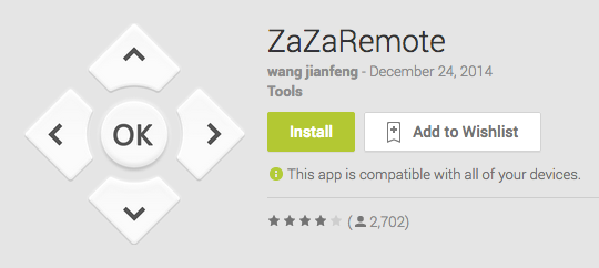 Android IR Remote